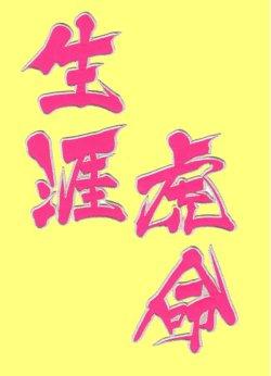画像2: ワッペン 生涯虎命(大)