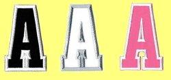 画像1: ワッペン(2014) アルファベット(一文字)