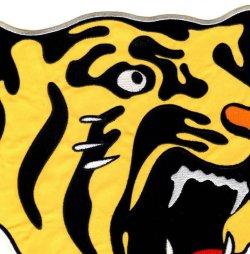 画像2: ワッペン 特大Tigersマーク